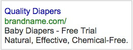 Example AdWords Ad 3