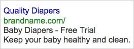 Example AdWords Ad 4