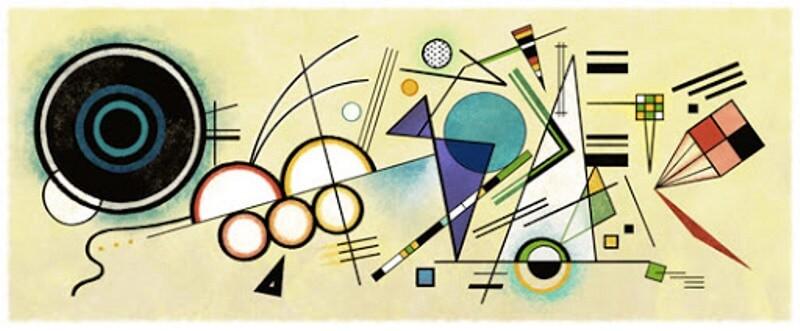 Google doodle Wassily Kandinsky 800