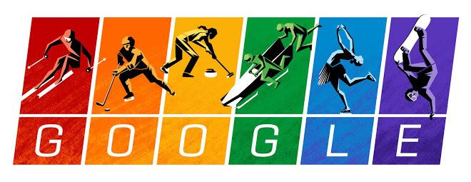 Google doodle winter olympics 2014