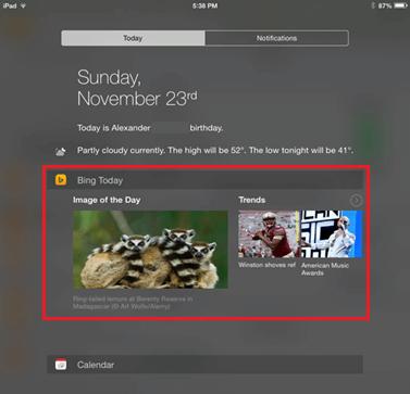 iPad-Today-Widget