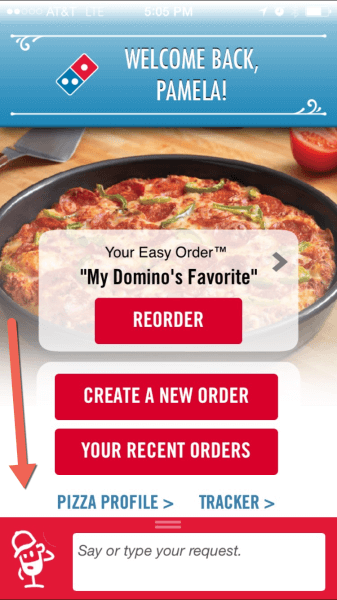 dominos-voice-app
