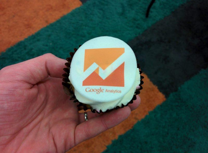 google-anaylytics-cupcake