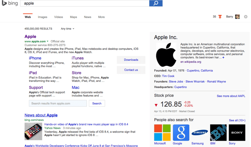 bing-apple