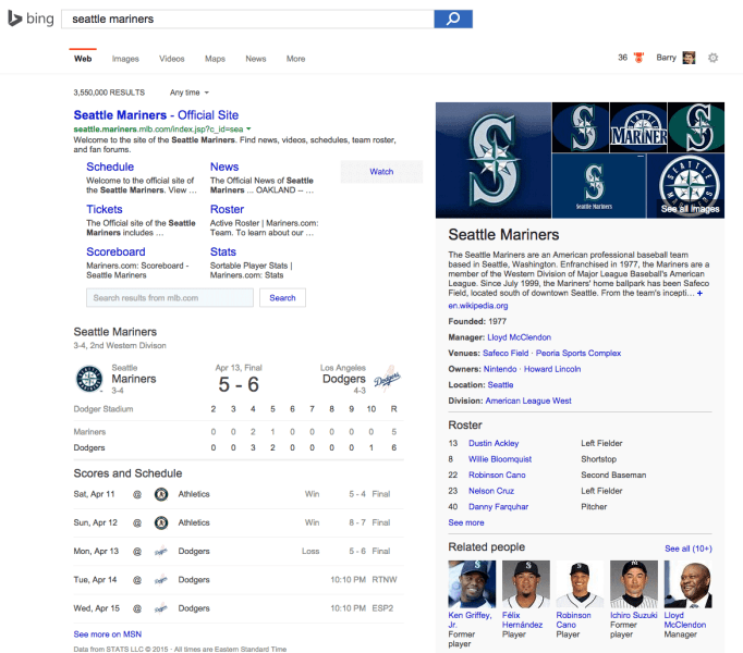 bing-seattle-mariners