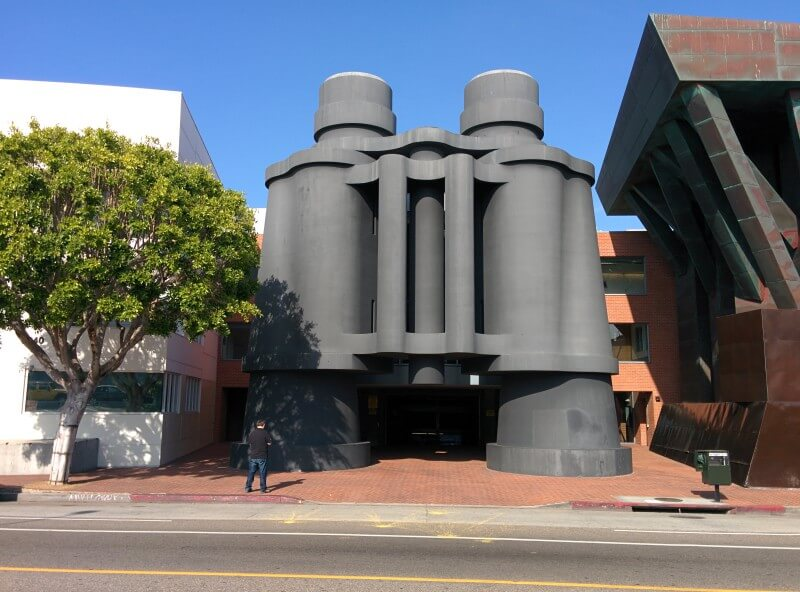google Binoculars Building