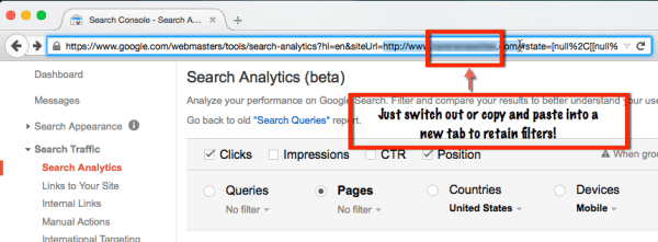 search analytics pro tip
