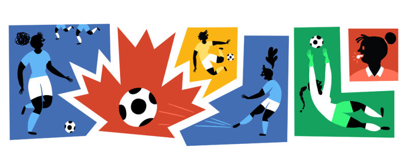 Womens world cup google doodle