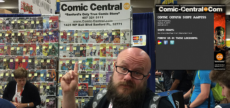 Local SEO lessons learned at ComicCon