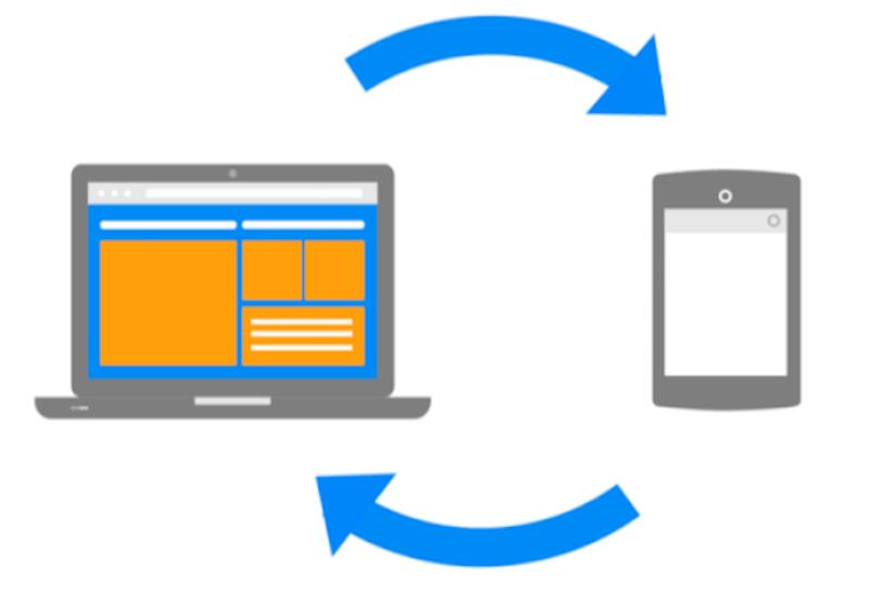 cross device conversions icon