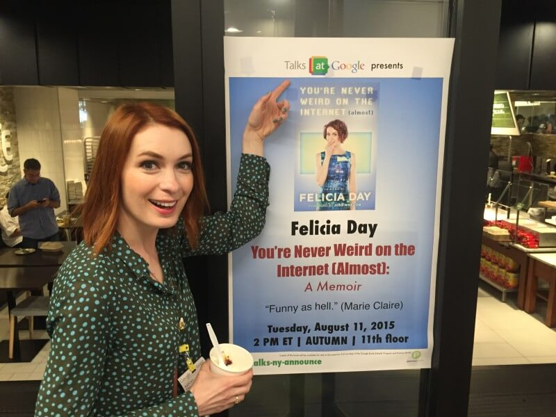 Felicia Day At Google