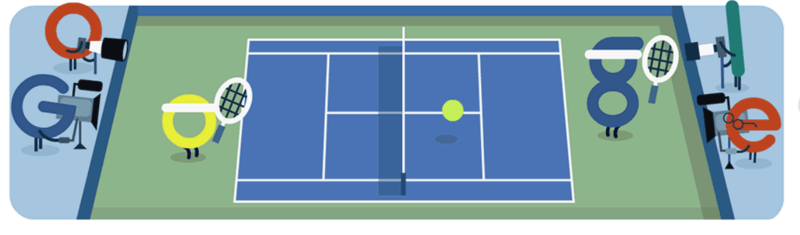 US Open google logo 2015