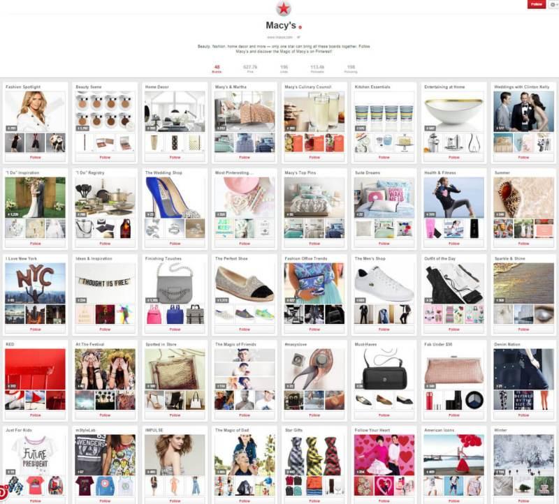 Pinterest Boards SEO
