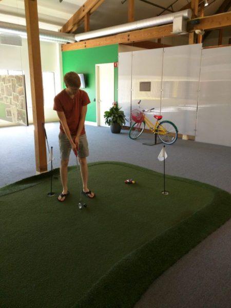 Google Indoor Mini Golf