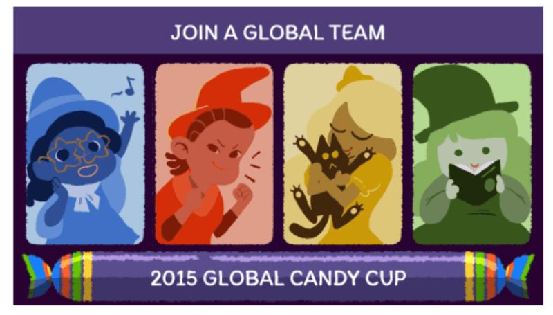 Google halloween doodle game 2015