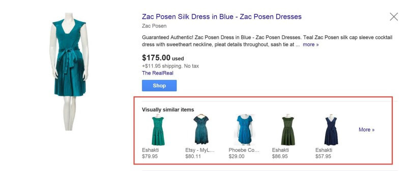 Visually Similar Products - Mannequin