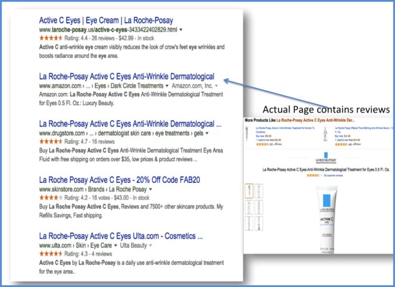 "Google Search for ""La Roche Posay Vitamin C eyes"" - Organic Results"