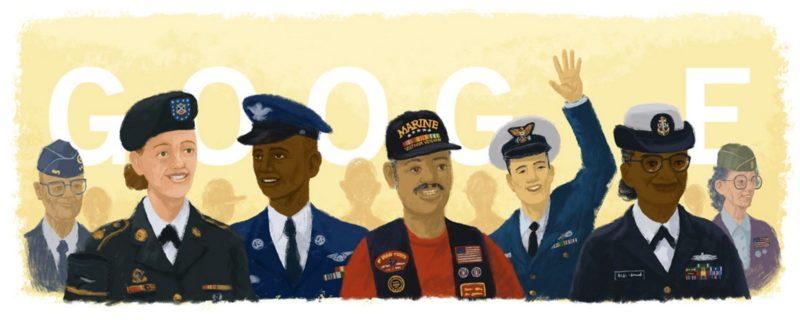 Veterans Day Doodle 2015