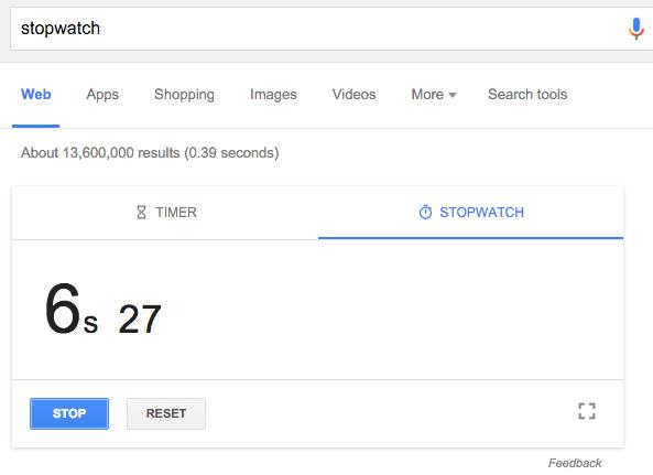 google-stopwatch