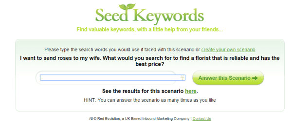 using survey data for keyword research