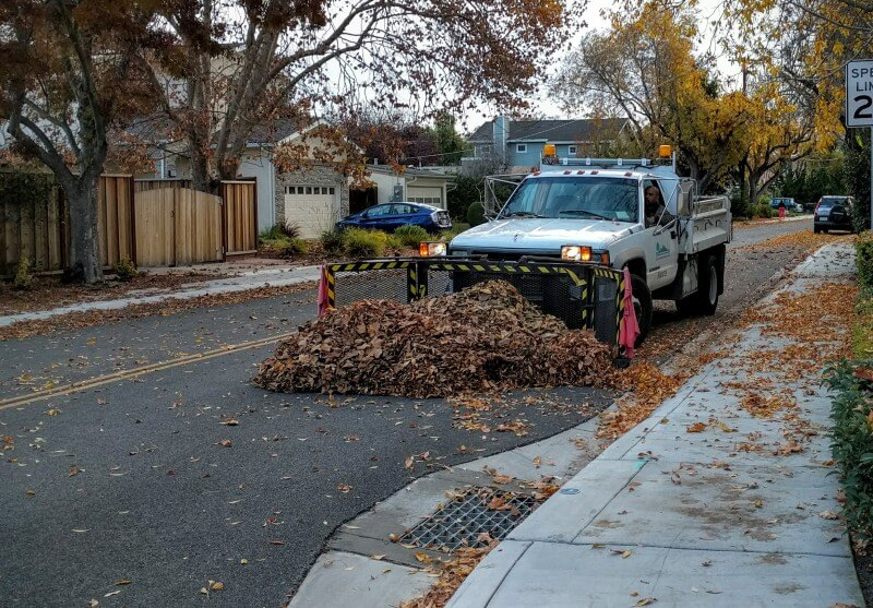 Leaf Plows In Mountain View