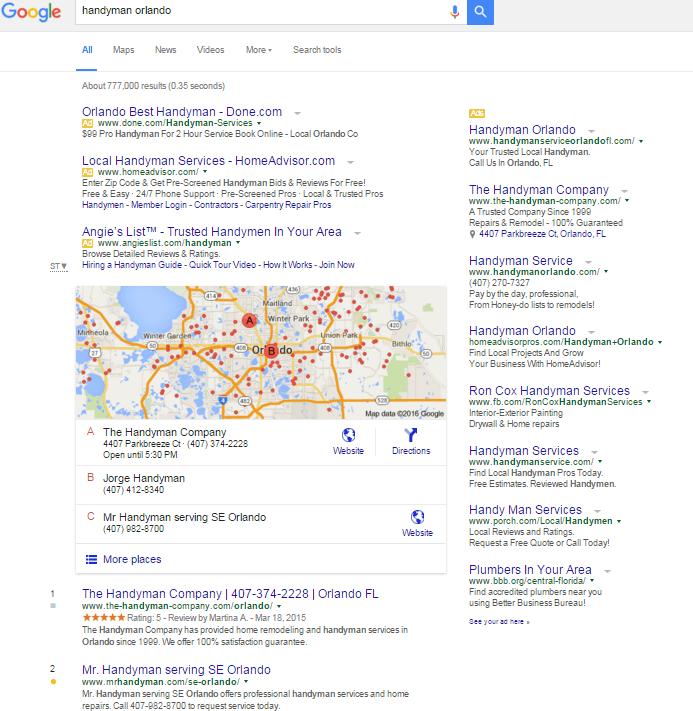 handyman orlando Google Search