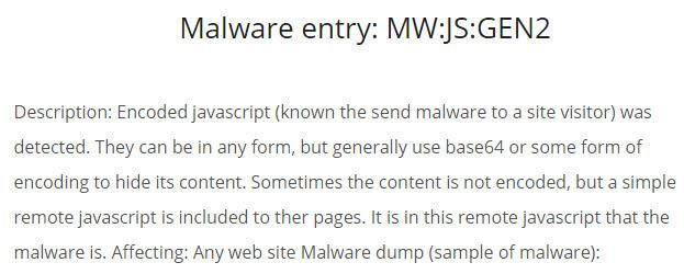 MWJSGEN2 Malware Definition