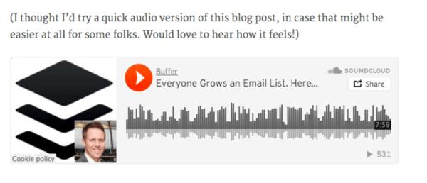 Buffer Audio