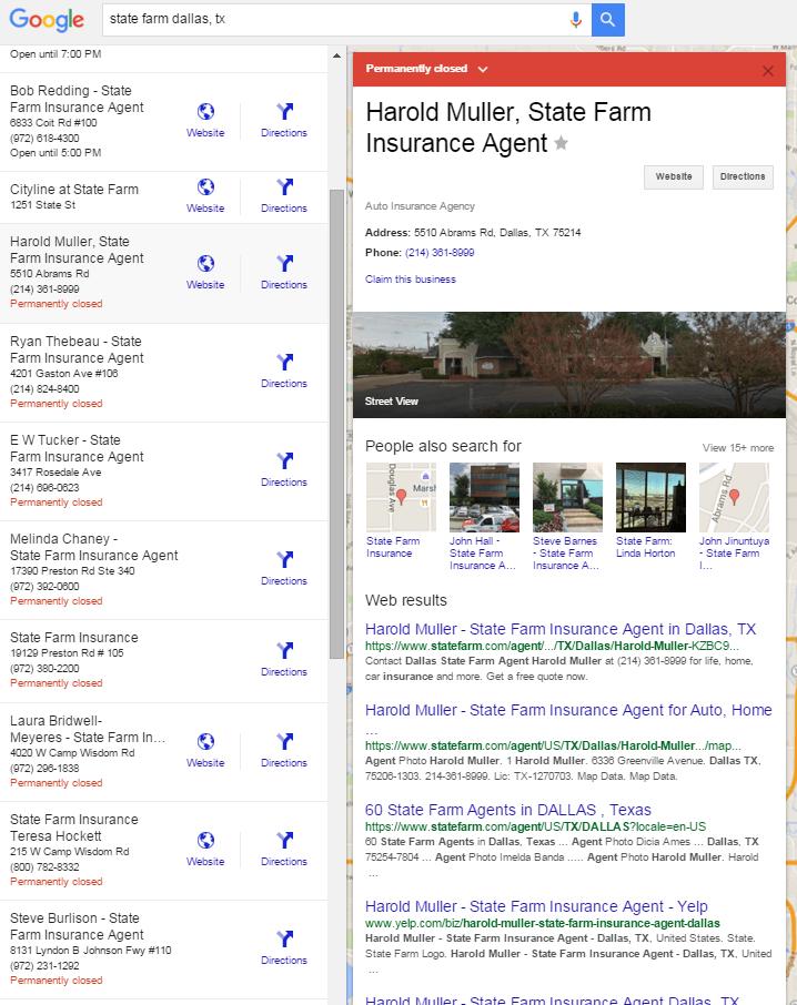 state farm dallas tx Google Search