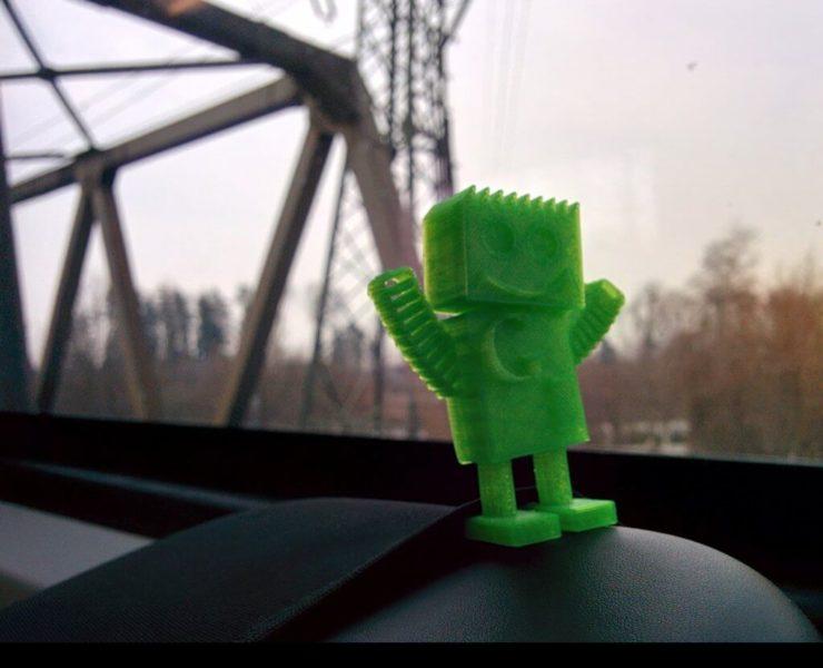Googlebot on the train