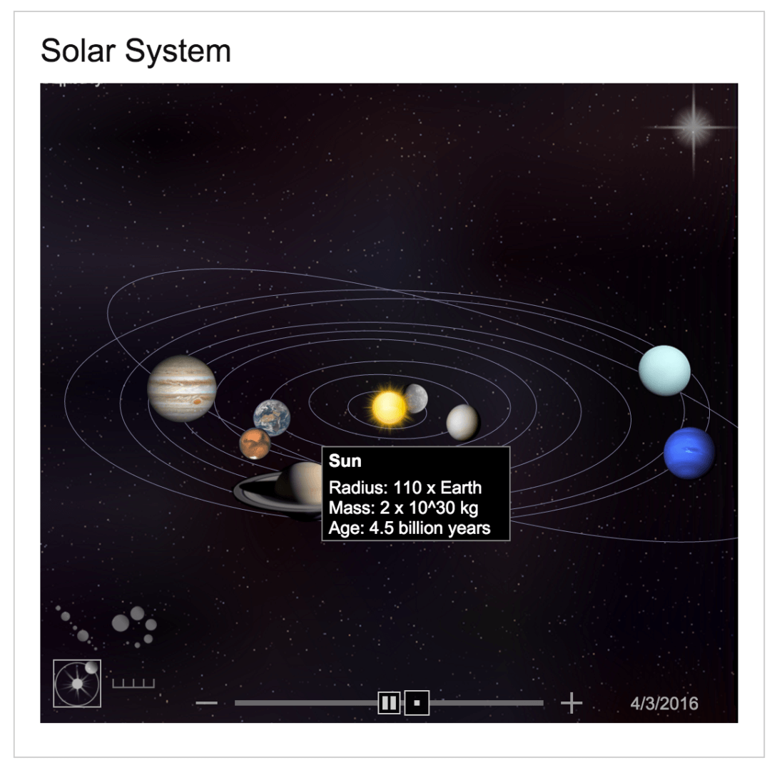 Bing Adds Interactive Solar System To Search Results