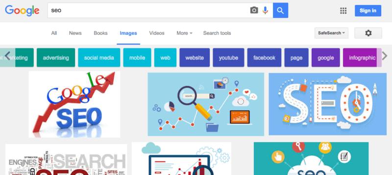 google-images-button-color