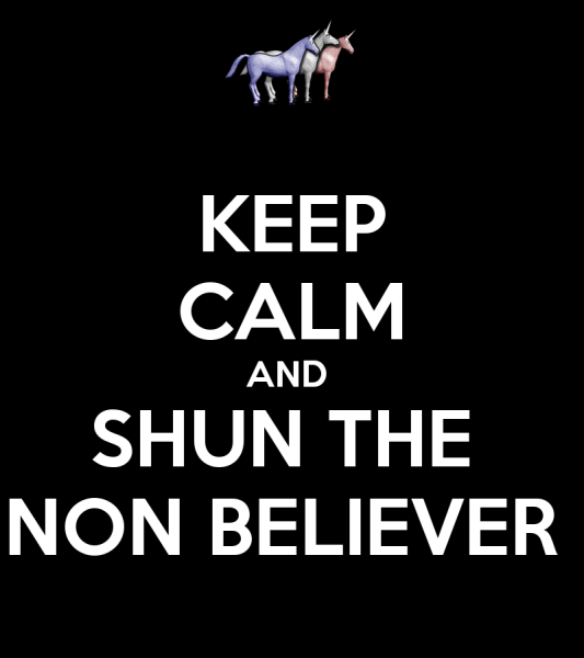 keep calm and shun