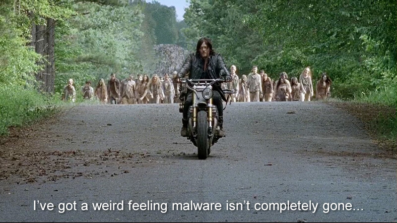 Malware and The Walking Dead
