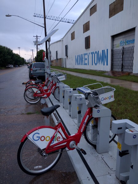 Austin version of the Google bike