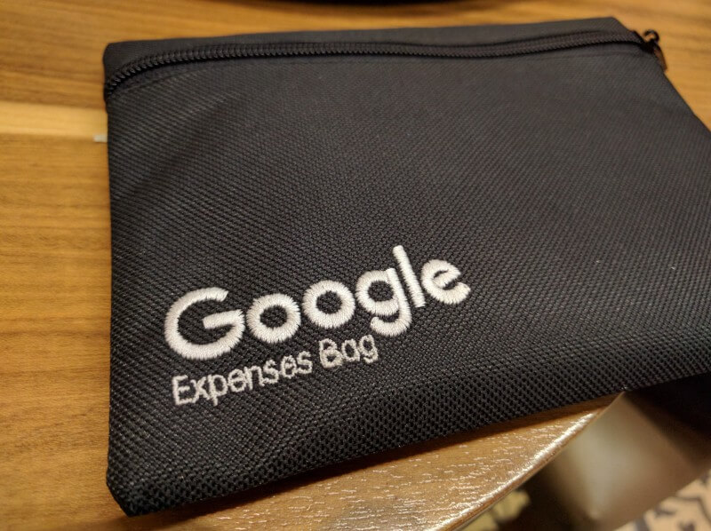 Google expense bag