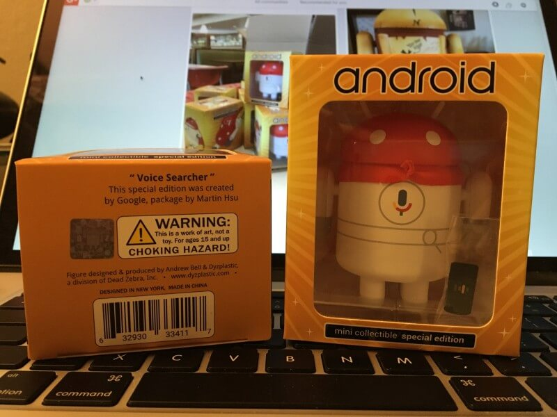 Voice Search Android Mini collectible