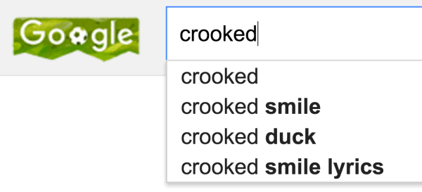 Google crooked