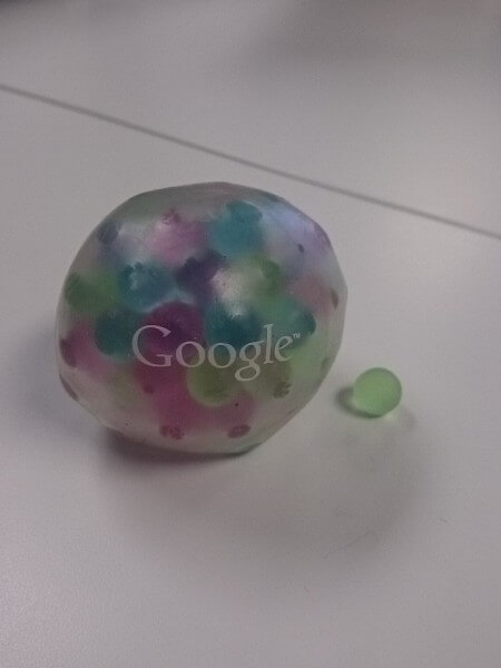 Google ball swag