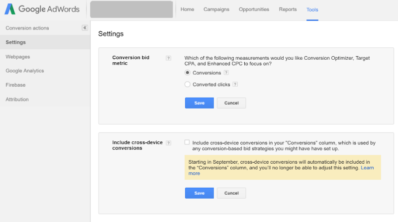 google adwords eliminating converting clicks