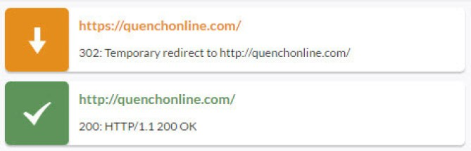 HTTPS 302 redirect