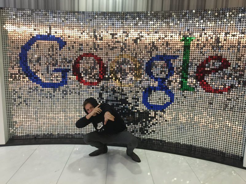Caspar Lee at Google