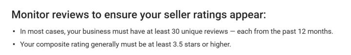 google-seller-ratings-30-minimum-policy