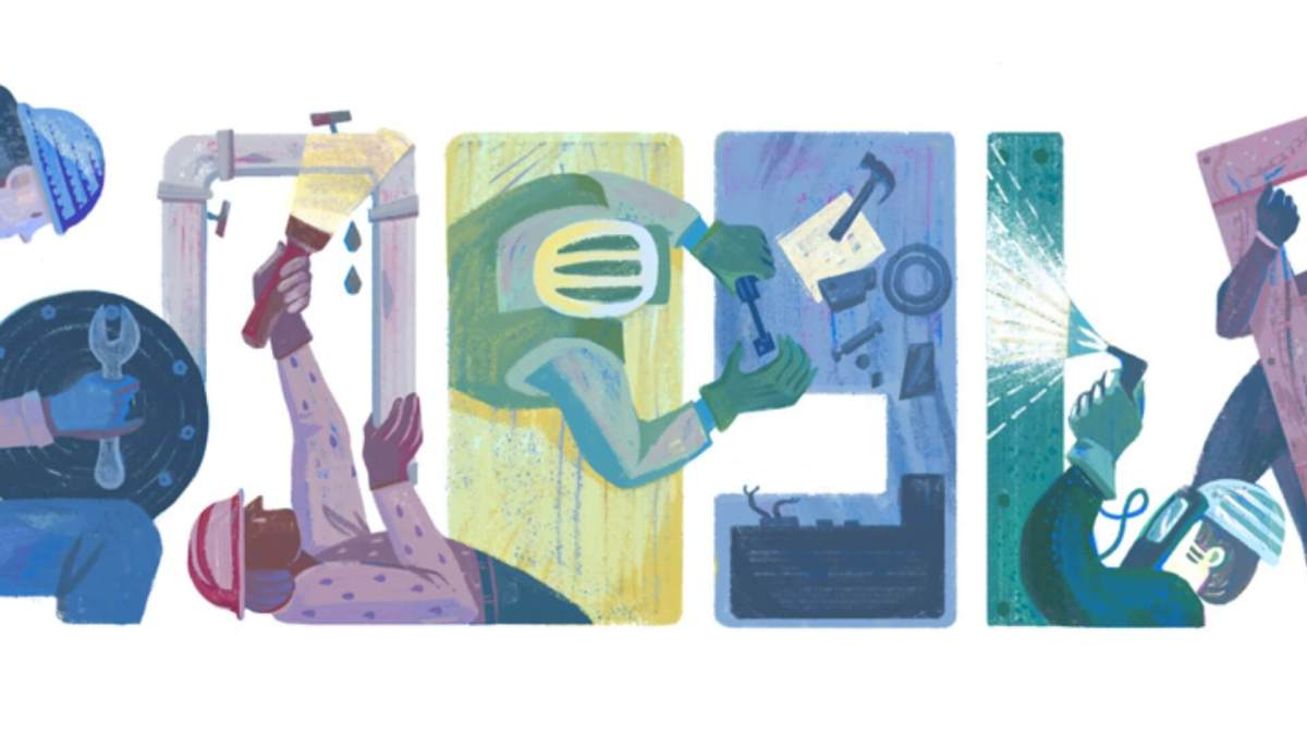 Google labor day doodle