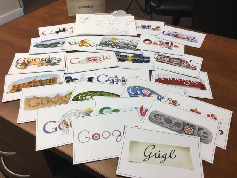 google-doodle-postcards
