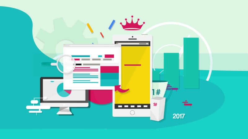 SEO in 2017 - mobile optimisation as a competitive advantage