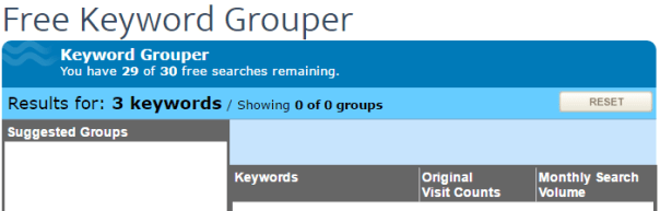 keyword grouper