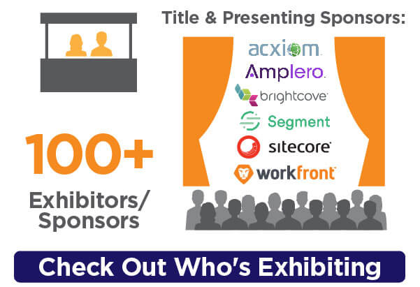 100+ exhibitors/sponsors...check out who's exhibiting