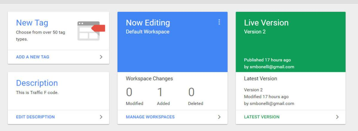 Add a Description in Google Tag Manager