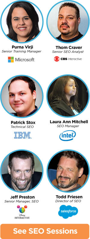 seo speakers 2 - SMX Advanced is almost sold out! Less than 100 tickets left.